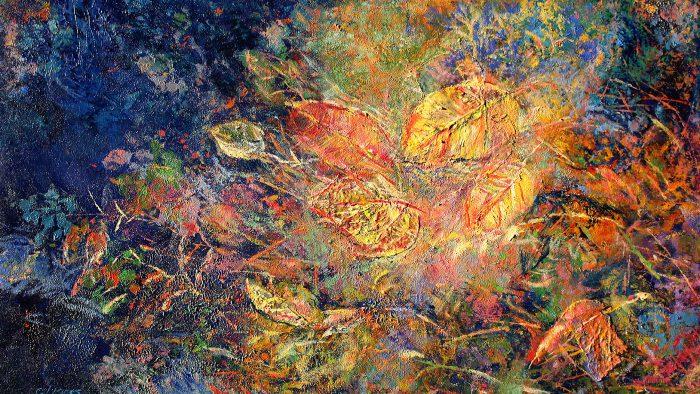 Painting Leaves Fascinate Me