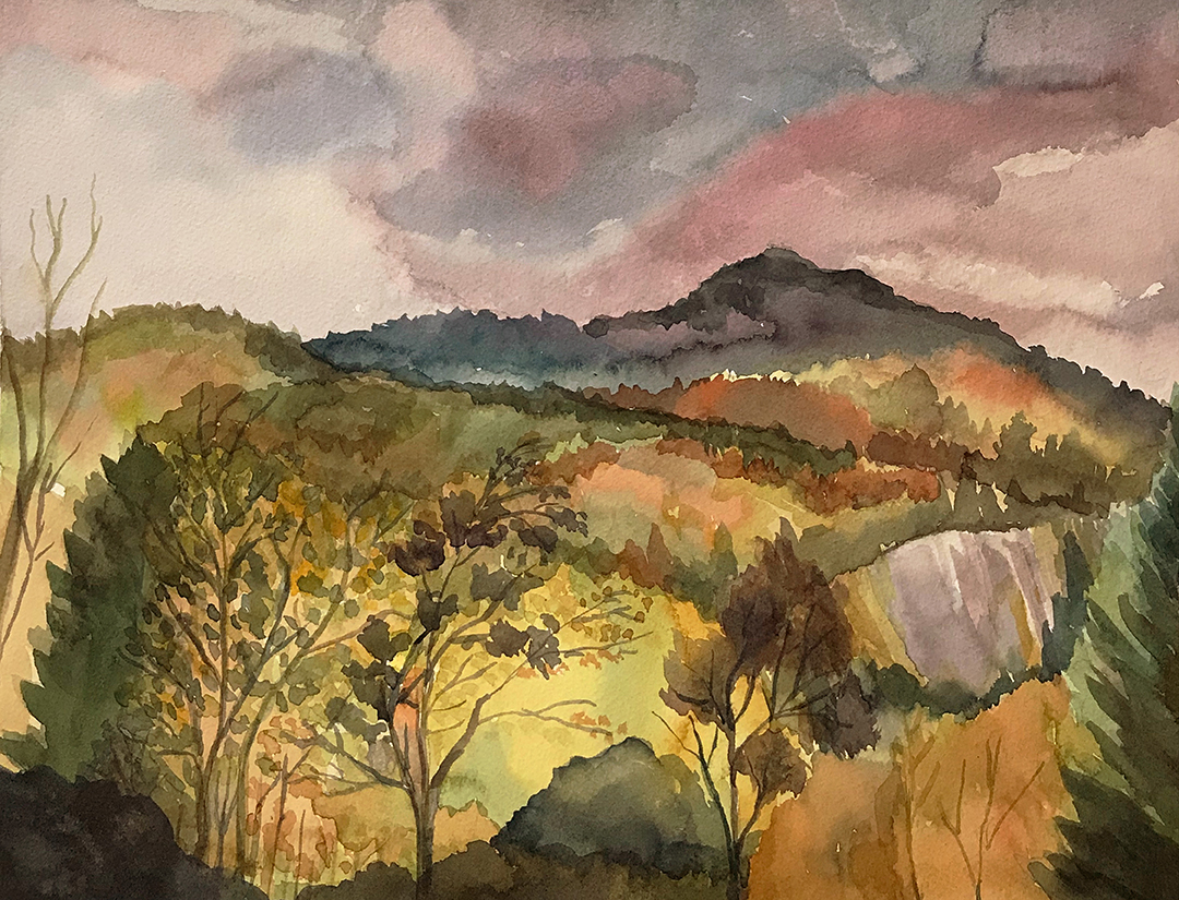 Painting By Grandfather Mountain