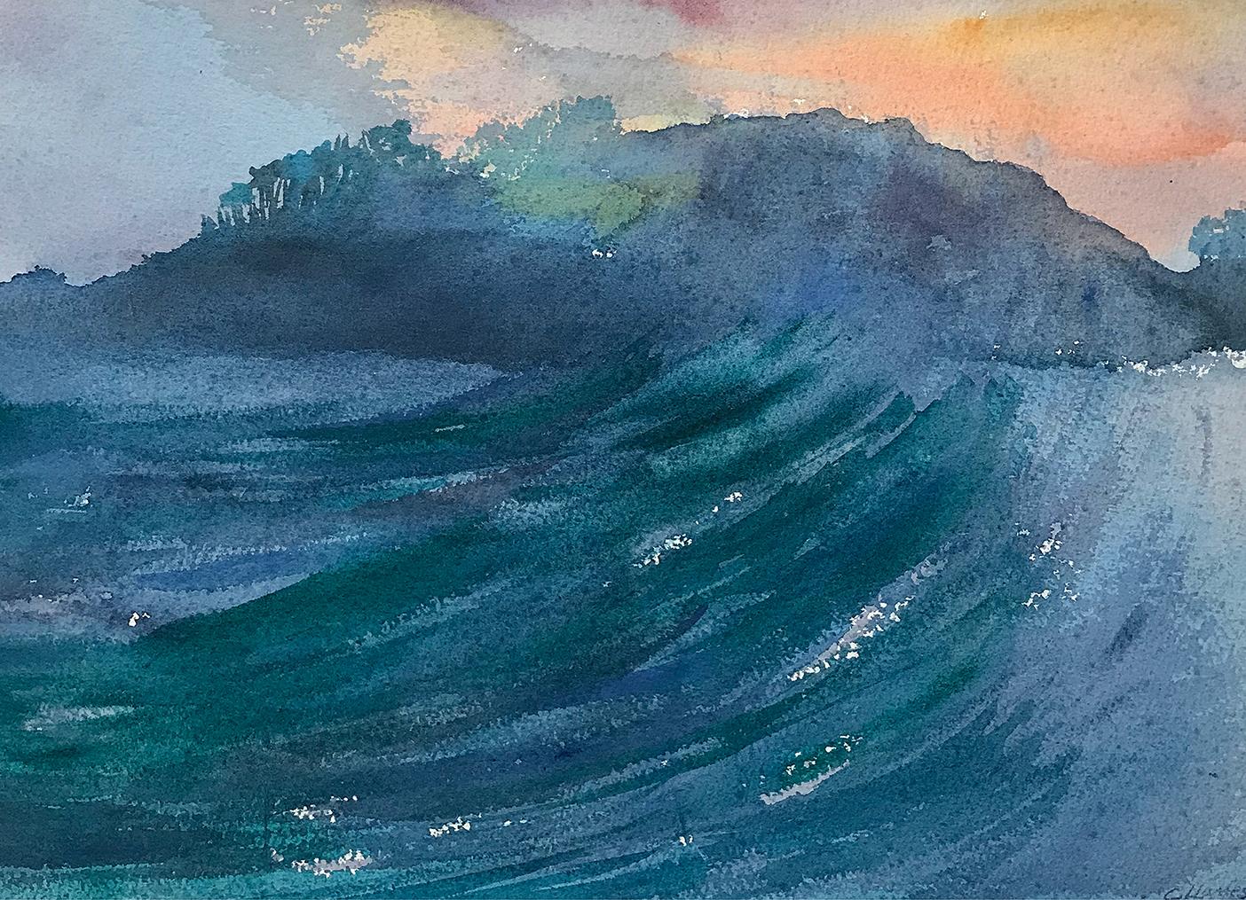 Painting Hideaway Island