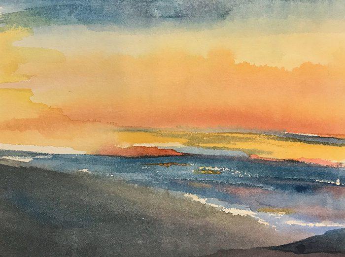 Painting Memory of Santa Barbara