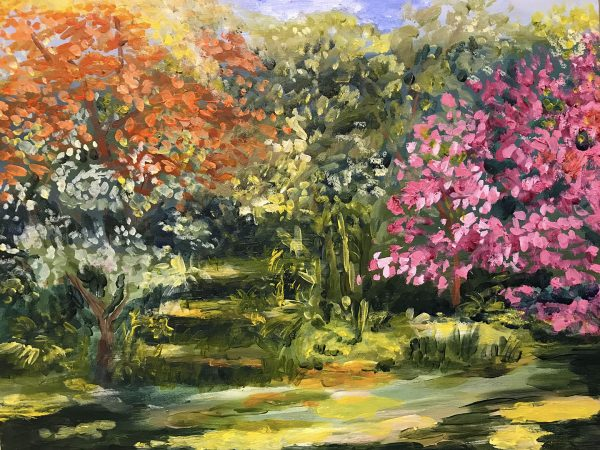 plein air-72-The First Day of Spring