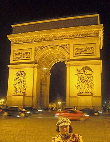 Arc De' Triomphe, City of Lights