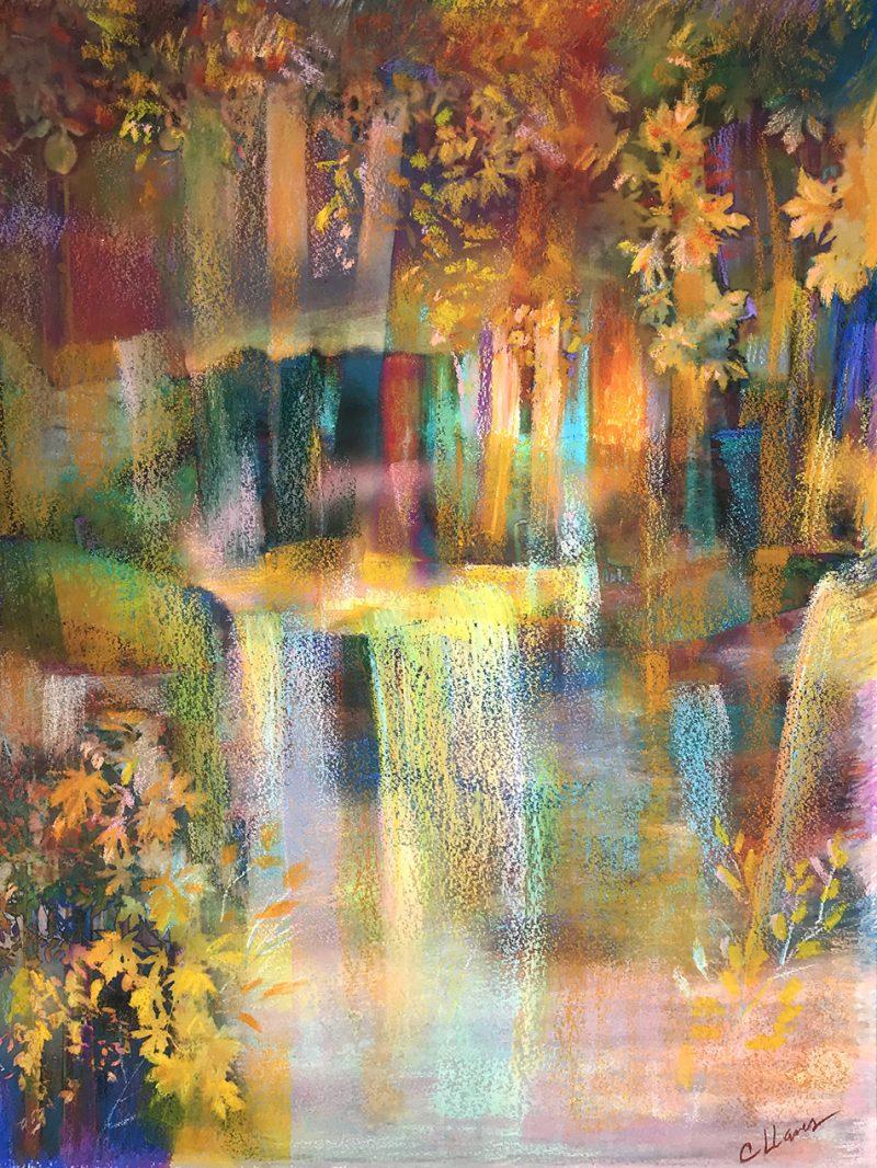 New mixed media paintings
